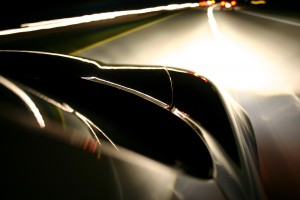 Cruising at night reveals lovely curves.
