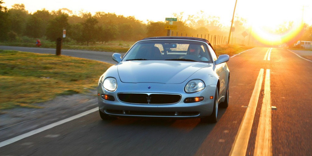 The Spyder is perfectly happy on the long, straight Florida roads... even if those who enjoy driving are not.